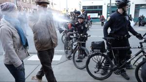 MLK day pepper spray