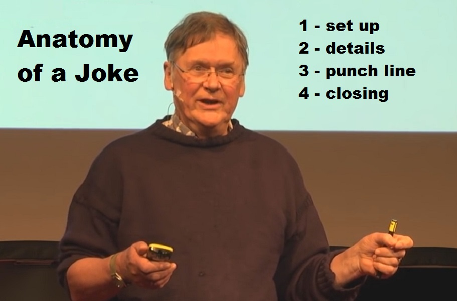 The anatomy of a joke | A View from the Bubble